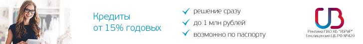 Кредиты в УБРиР